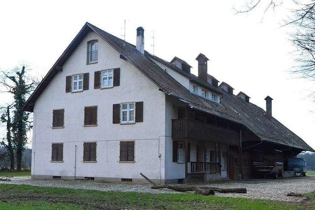 Hausbesetzer nehmen das Bässlergut in Weil am Rhein in Beschlag