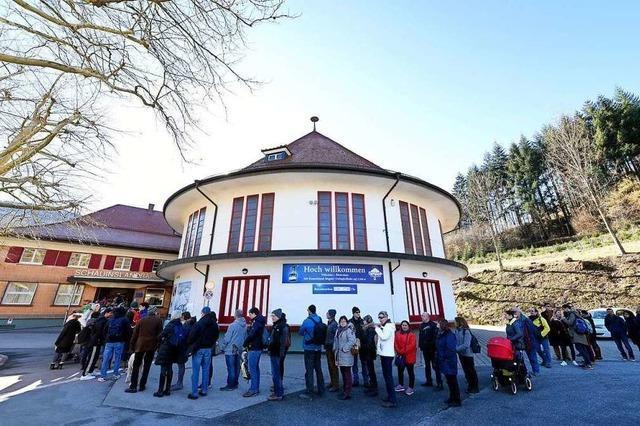 Schauinslandbahn muss wegen Freifahrt Überstunden machen