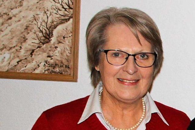 Vogtsburgs Frau des Jahres 2018: Ruth Höke