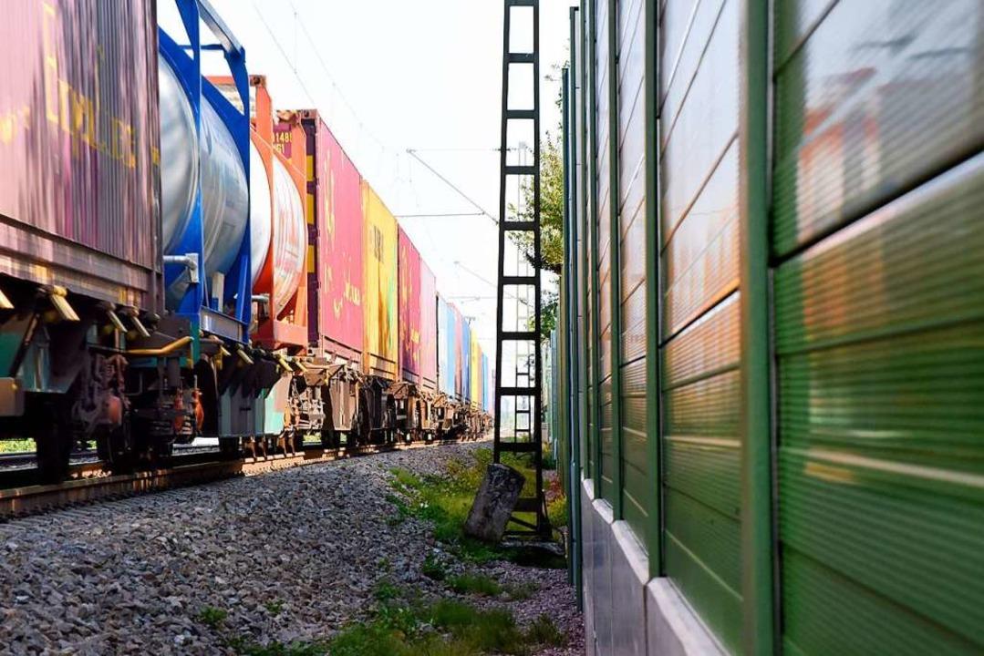 Beim Ausbau der Rheintalbahn ist Schal...z ein wichtiges Thema für die Region.   | Foto: Siegfried Gollrad