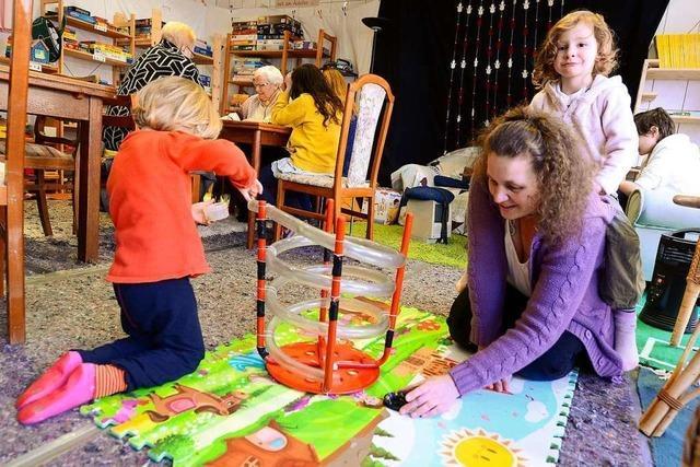 In einer ehemaligen Metzgerei in Herdern gibt's einen Spieltreff für Alte und Junge