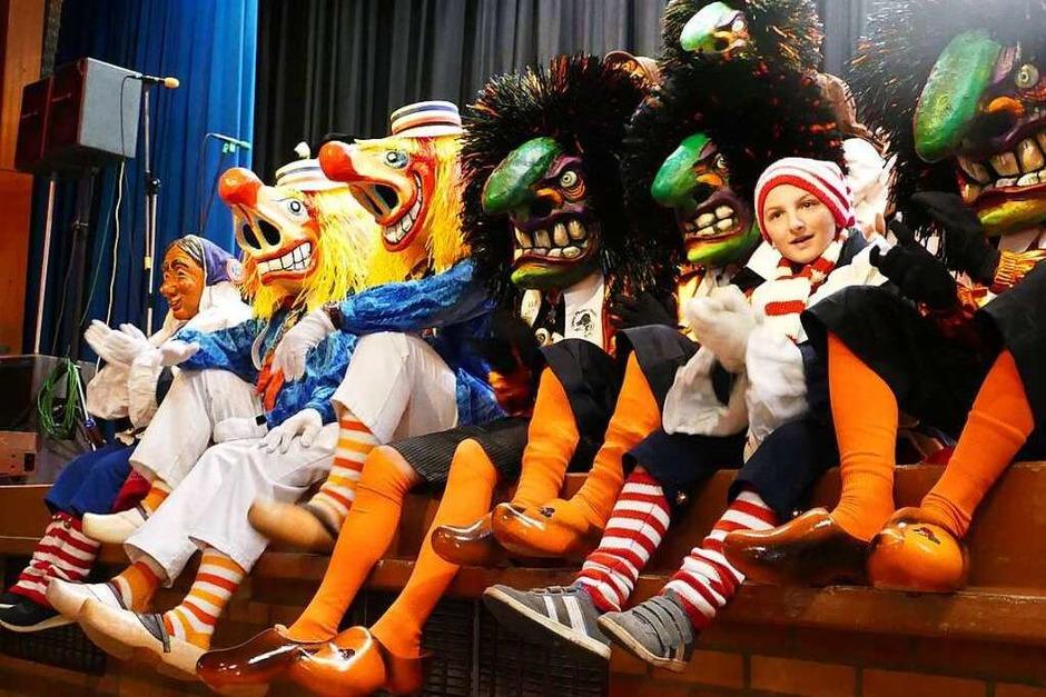 Mit viel Liebe zum Detail haben die Weiler Zunftmeister in der Jahnhalle eine über vierstündige Show auf die Beine gestellt (Foto: Ulrich Senf)