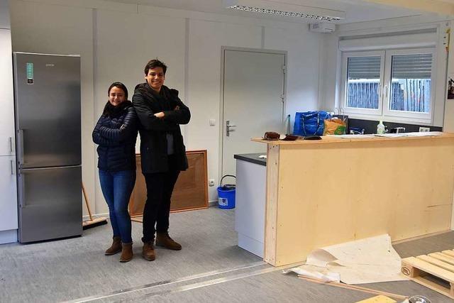 In Schallstadt wird der neue Jugendraum eröffnet