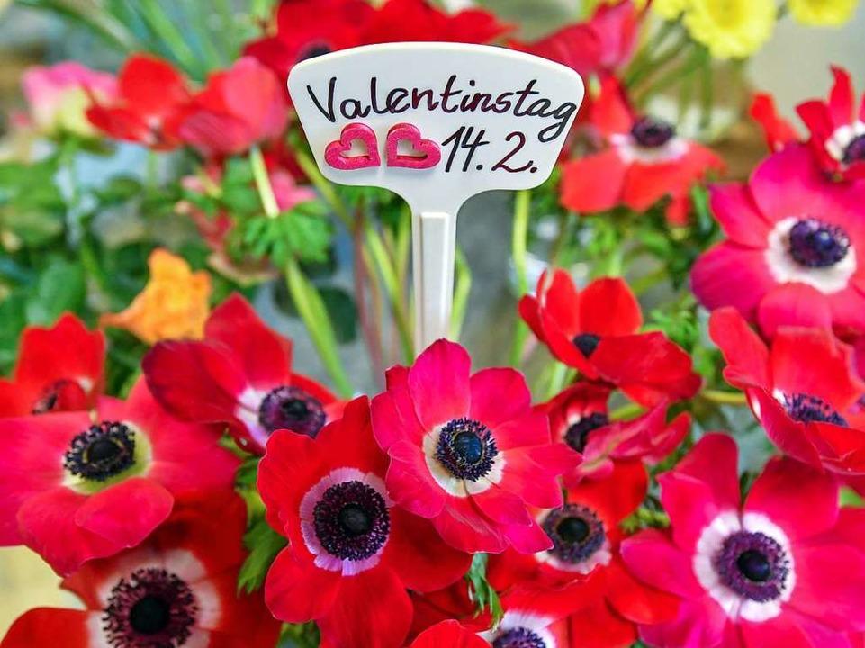 Blumen zum Valentistag     Foto: dpa
