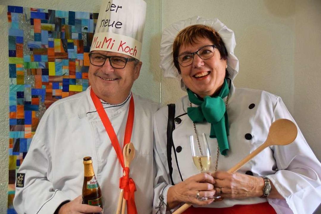 Das neue Küchenduo der Murger Mitte: Guido Wiesler und Rosa Wiesler  | Foto: Hildegard Siebold