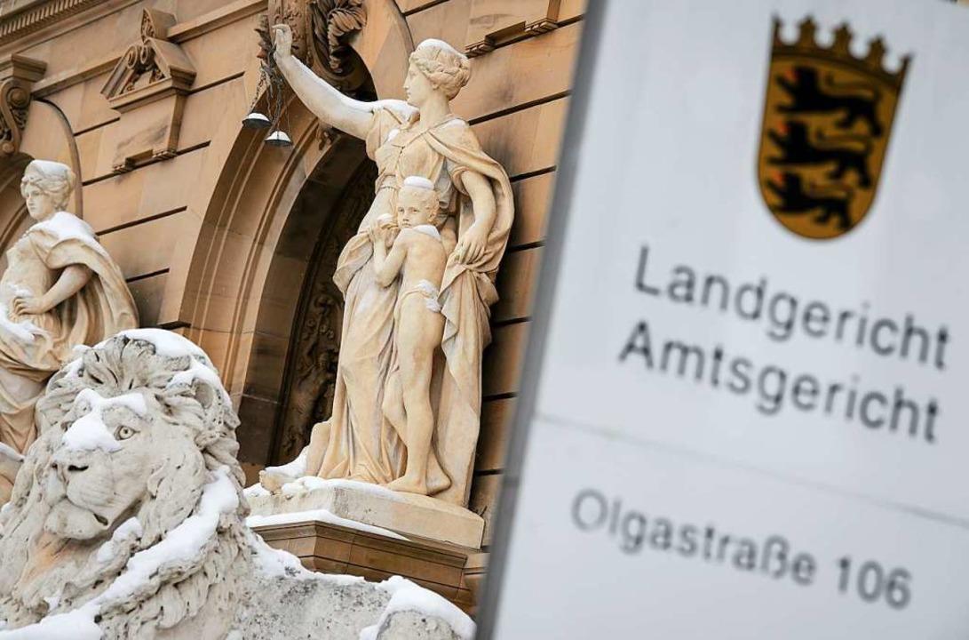 Das Ulmer Landgericht  | Foto: dpa