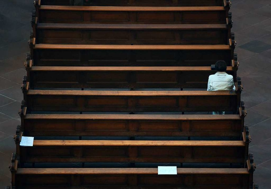 Die Zahl der Gläubigen sinkt.  | Foto: Arne Dedert