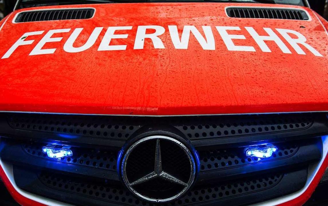 Feuerwehreinsatz in Denzlingen    Foto: dpa
