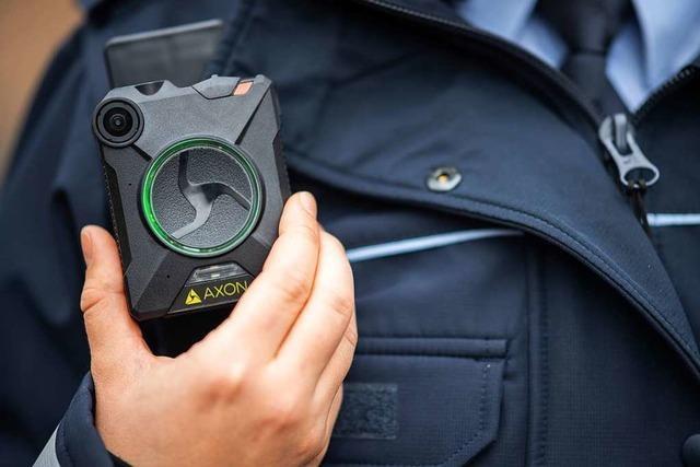 Polizisten in Weil am Rhein bekommen im März zehn Bodycams