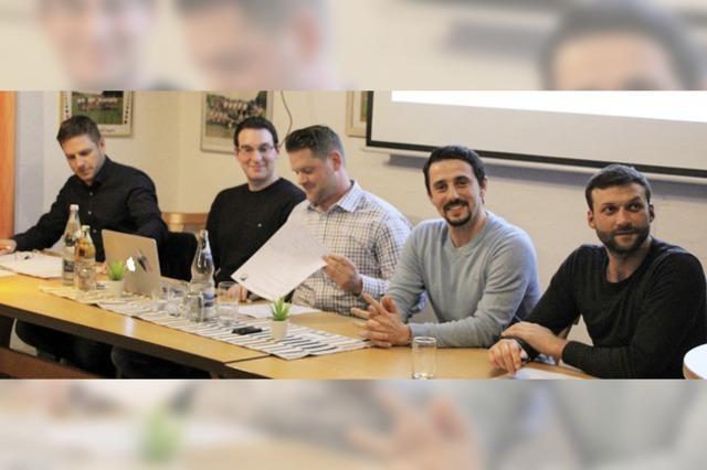 Fünf gleichberechtigte Vorstandssparten
