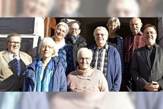 Einsatz für seniorenfreundliche Stadt