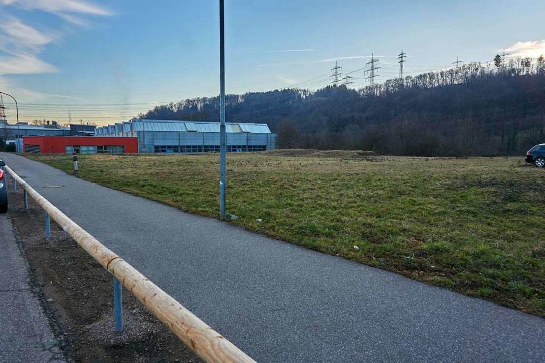 Auf einer Fläche von 30 mal 34 Metern ...neue Montagehalle mit Büros entstehen.