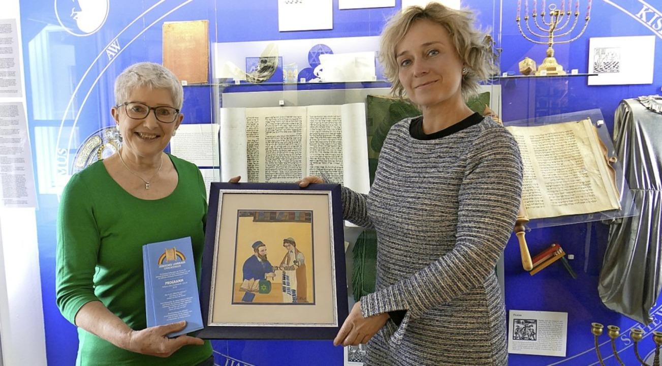Carola Gasse und Monika Rachel Rija Miklis (von links)   | Foto: Sarah Ehret