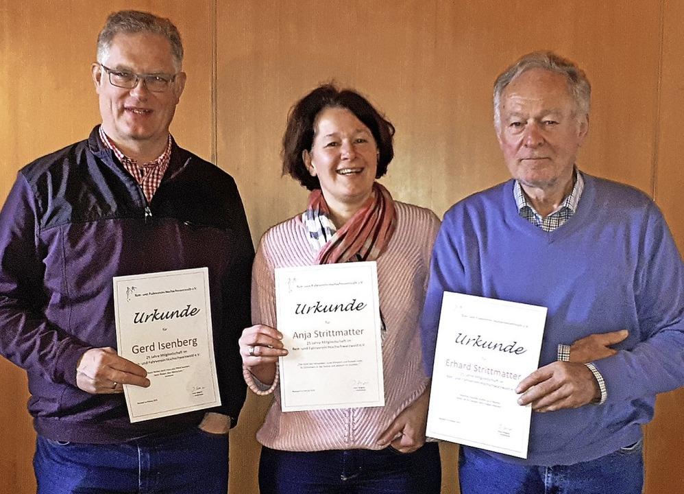 Sie  sind seit 25 Jahren engagierte Mi...trittmatter und Erhard  Strittmatter.   | Foto: Dorothée Kuhlmann
