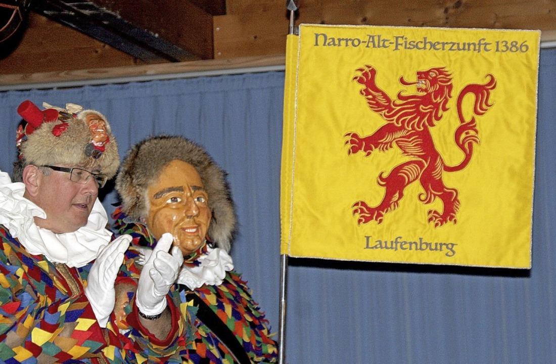 Mit großem Beifall wurde beim Hauptbot...ks: Zunftmeister René Leuenberger jun.    Foto: Charlotte Fröse