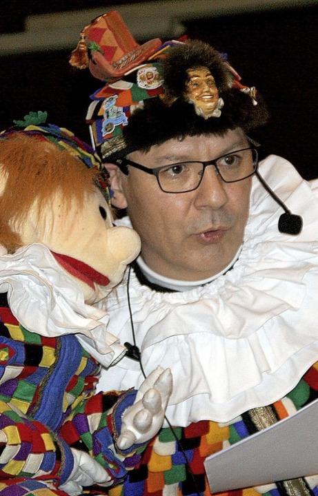 Zunftmeister Claus Epting hatte sich m...obst geehrt (Foto rechts, von links).   | Foto: Charlotte Fröse