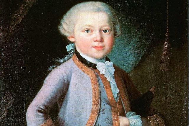 Mozart, das ganz junge Genie: