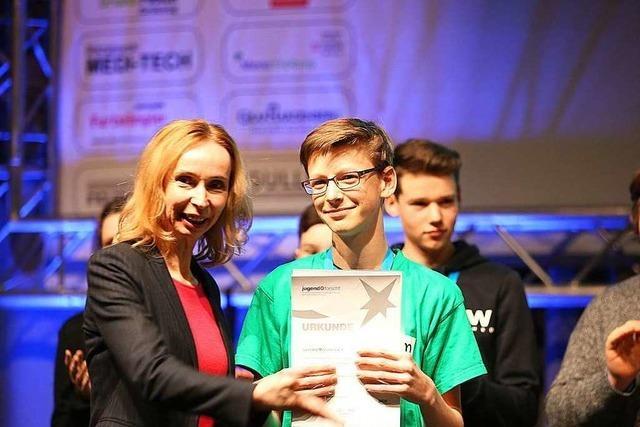 Das sind die Gewinner des Regionalwettbewerbs von Jugend forscht