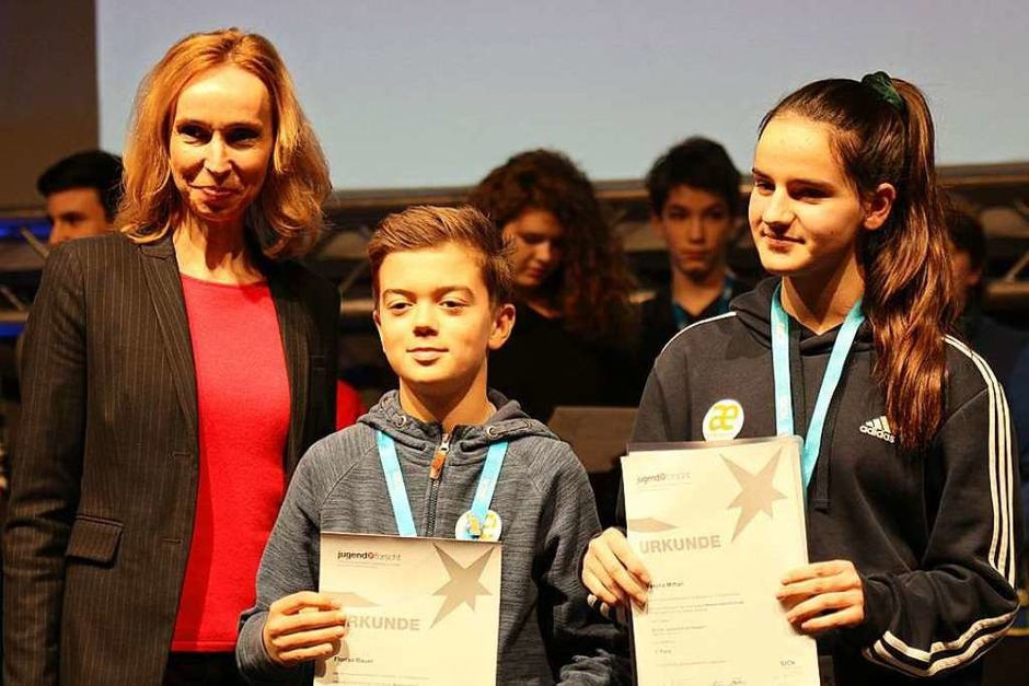 202 Schülerinnen und Schüler aus Südbaden sind beim Regionalwettbewerb von Jugend Forscht an den Start gegangen. (Foto: Janos Ruf)