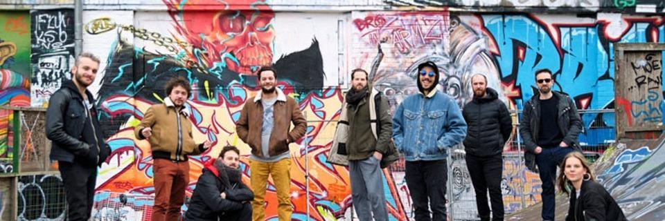 Die Band Les Yeux D'La Tête feiert ihren 10. Geburtstag im Jazzhaus