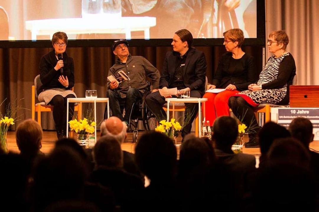 Linda Gungl, Bruno Stratz, Johannes Ba...sion – und den weiten Weg dahin.  | Foto: Patrik Müller