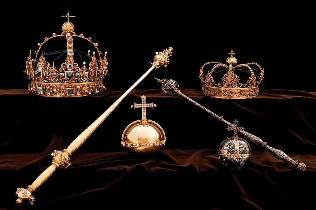 Die schwedischen Kronjuwelen  | Foto: dpa