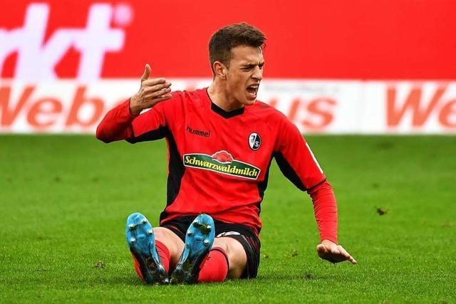 Einsatz von Haberer steht beim SC-Spiel gegen Schalke auf der Kippe