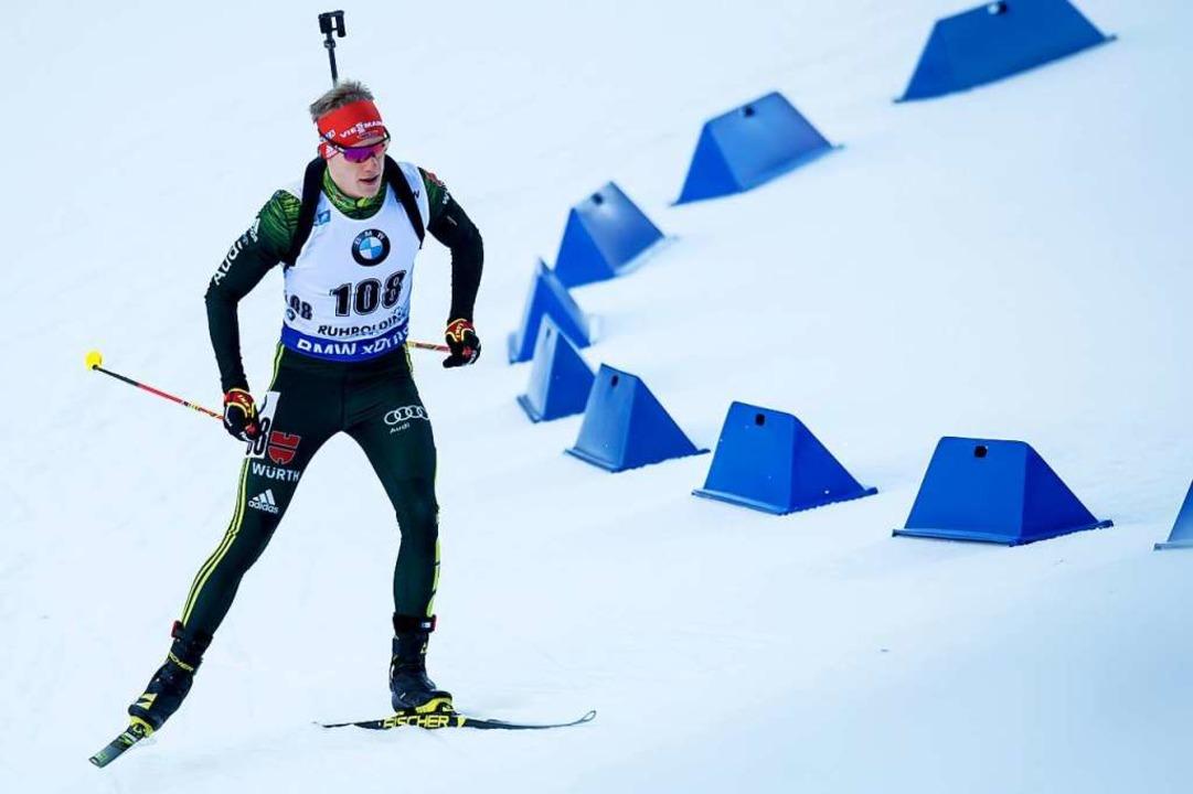 Roman Rees vom Skiverein Schauinsland ...s bisher beste Rennen seiner Karriere.    Foto: dpa