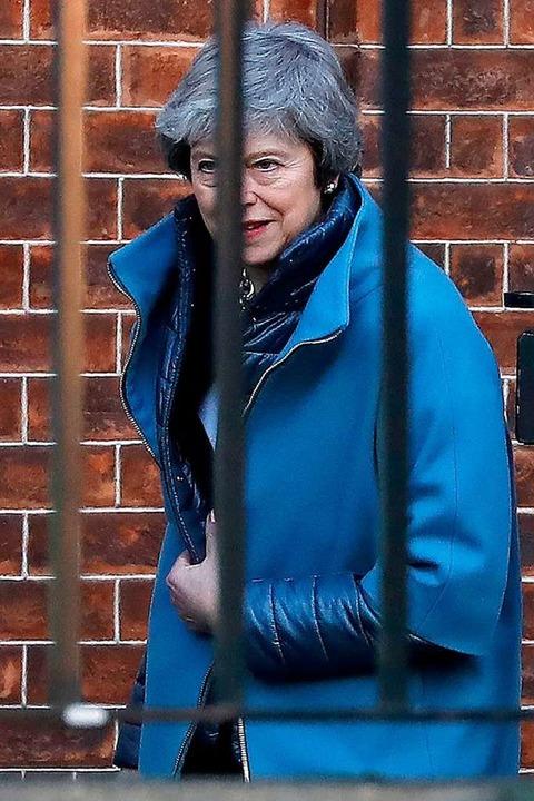 Großbritanniens Premierministerin Ther...immer noch keinen Plan für den Brexit.  | Foto: afp