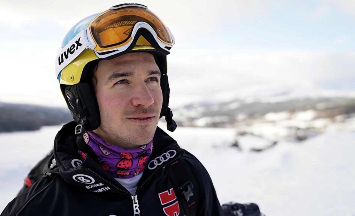 Felix Neureuther beim Training im schwedischen Are  | Foto: dpa