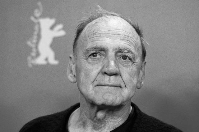 Schauspieler Bruno Ganz ist tot