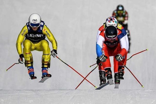 Skicrosser Florian Wilmsmann rast beim Weltcup am Feldberg auf Platz zwei