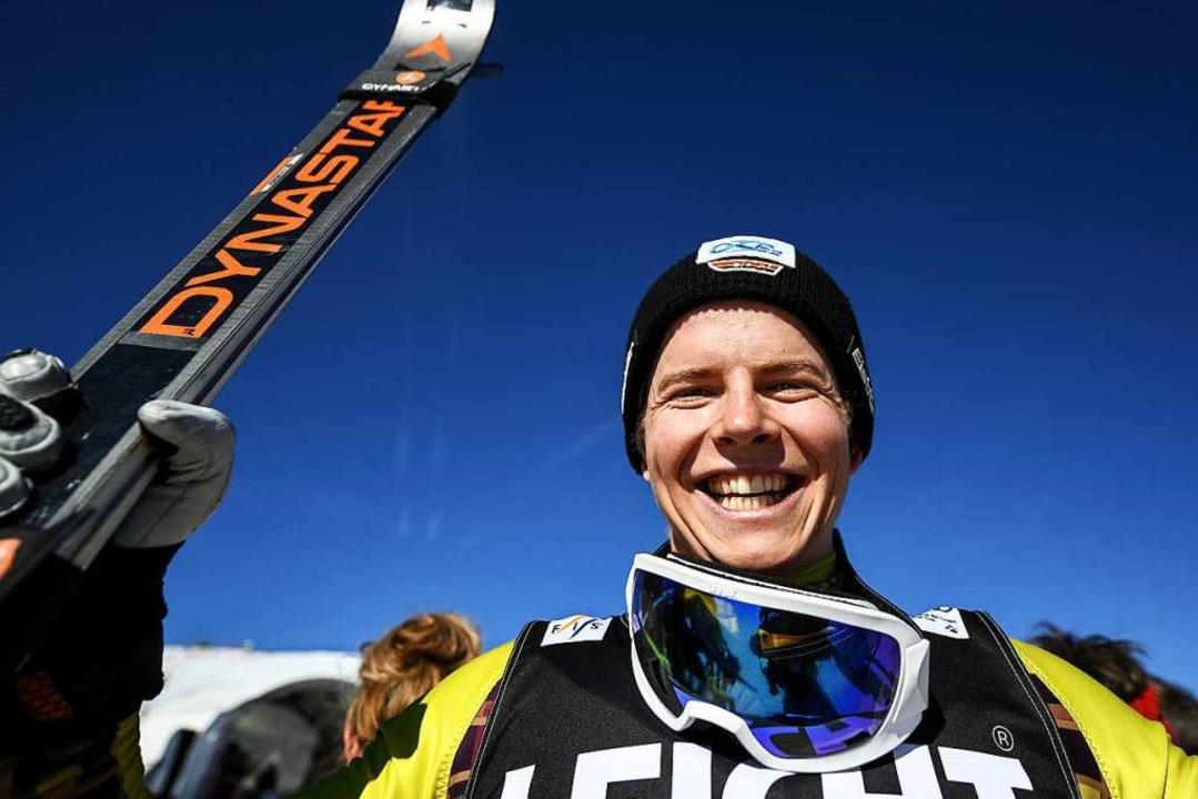 Der Zweite, Florian Wilmsmann aus Deut...ine bislang beste Weltcup-Platzierung.  | Foto: dpa