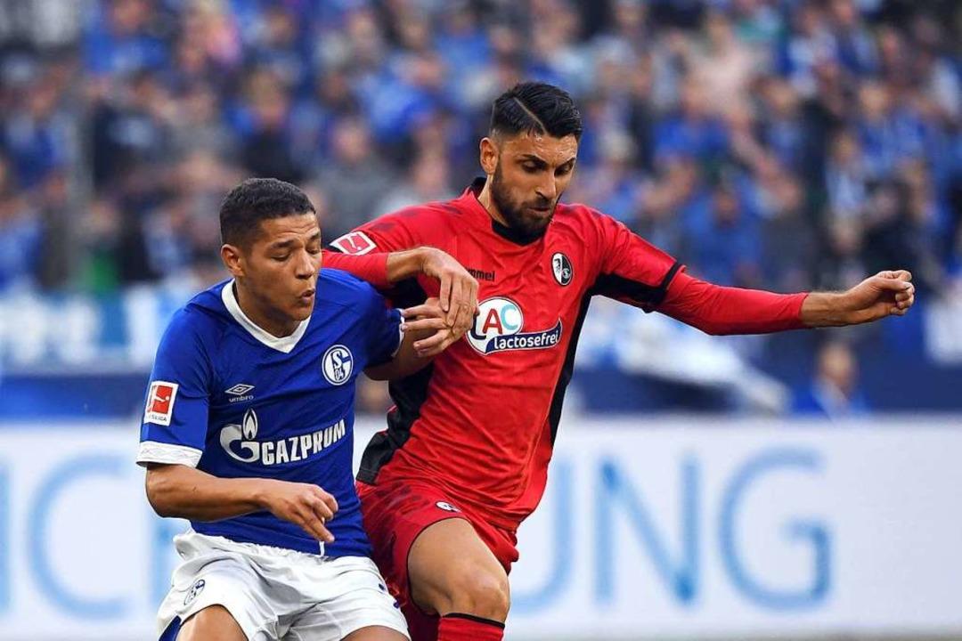 Vincenzo Grifo initiiert die meisten Chancen für den SC Freiburg.    Foto: dpa