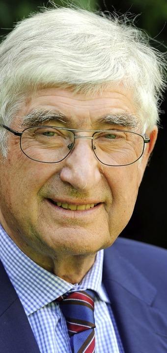 Rolf Böhme.  | Foto:  dpa