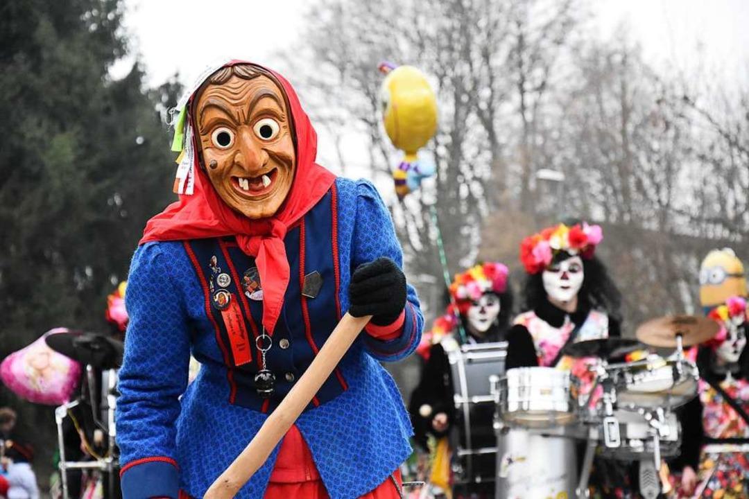 Die Gundelfinger Dorfhexen feiern Jubiläum.  | Foto: Jonas Hirt