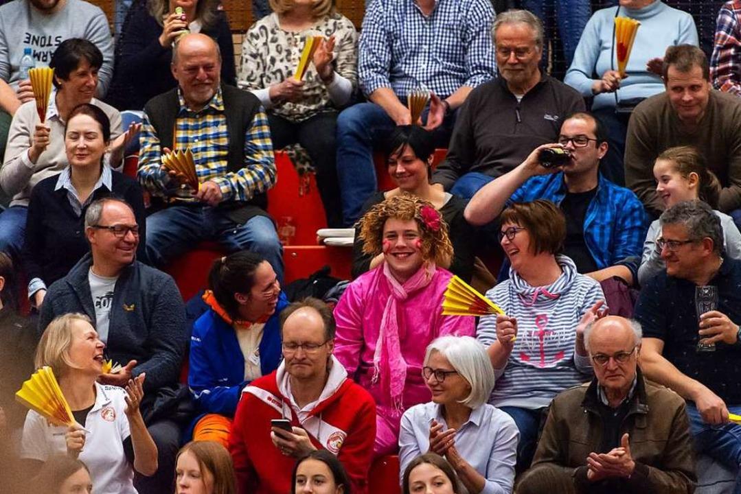 Volleyball als närrisches Kontrastprogramm    Foto: Sebastian Koehli