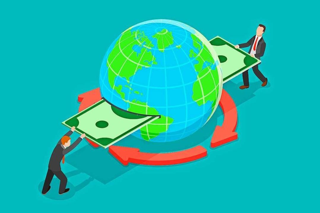 Wenn das Geldüberweisen ins Ausland so einfach wäre<ppp></ppp>    Foto: nanuvision