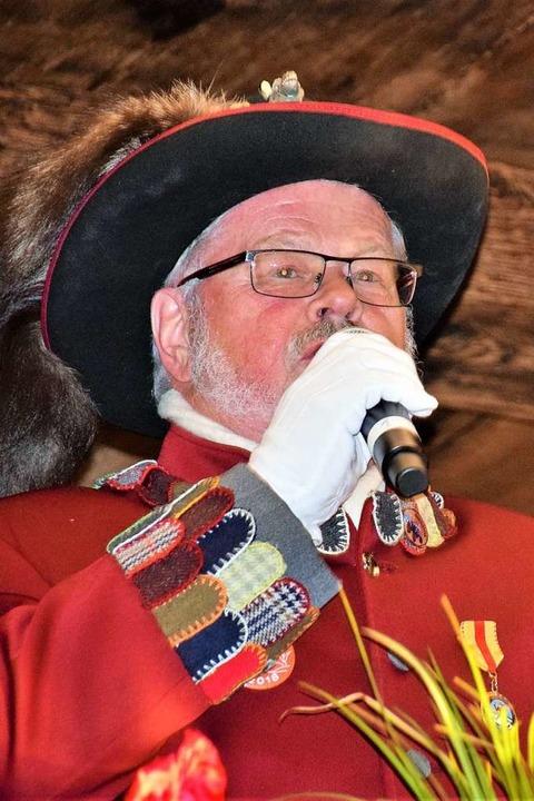 VSAN-Präsident Roland Wehrle    Foto: Hildegard Siebold