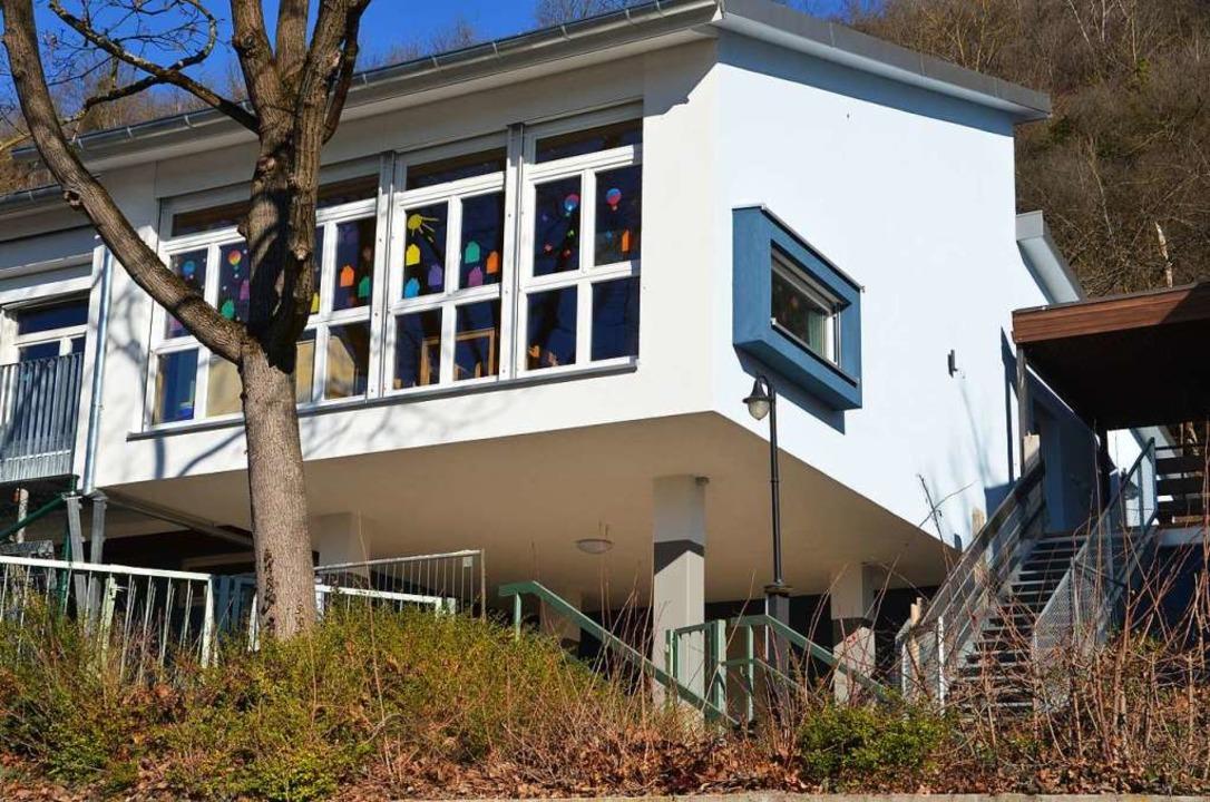 Der neue Anbau am Niederrimsinger Kinderhaus  | Foto: Hans-Jochen Voigt