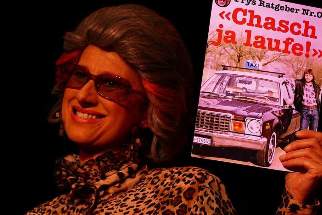 Margrit Bornet als Fry.  | Foto: Yvonne Siemann