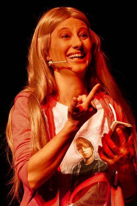 Margrit Bornet als Susi.  | Foto: Yvonne Siemann