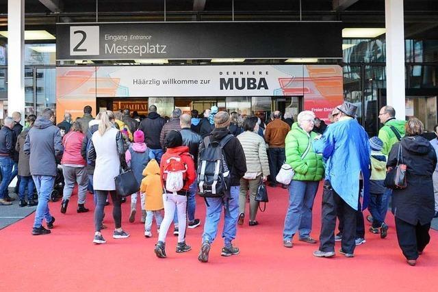 Viele Besucher wollten ein letztes Mal die Muba Basel erleben