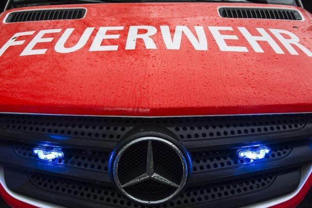 Emmendinger Feuerwehr rückt wegen Zimmerbrand aus
