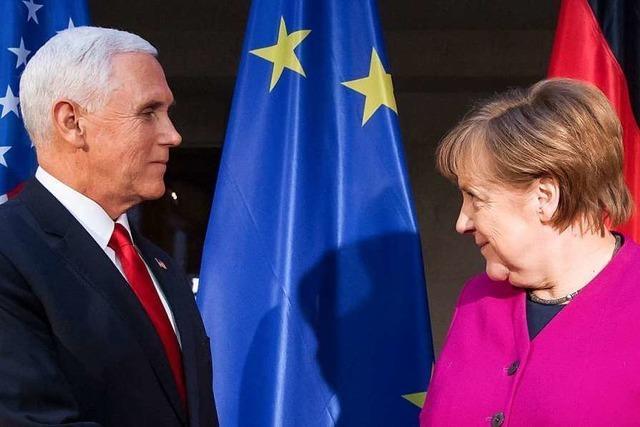 Merkel kritisiert US-Pläne zu Strafzöllen auf europäische Autos