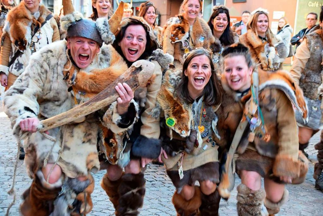 Narrentreffen in Bad Säckingen  | Foto: Hildegard Siebold