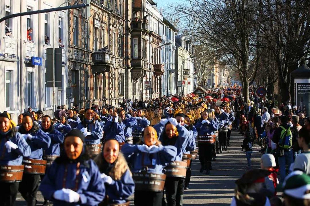 Narrentag in Offenburg  | Foto: janos ruf