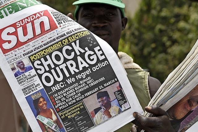 Wahldurcheinander in Nigeria