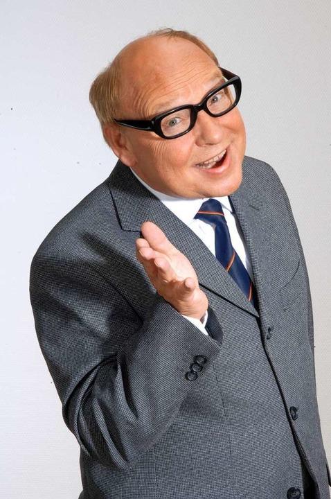 Brille, Haltung, Kleidung – aus ...t wird so ganz schnell Heinz Erhardt.     Foto: privat