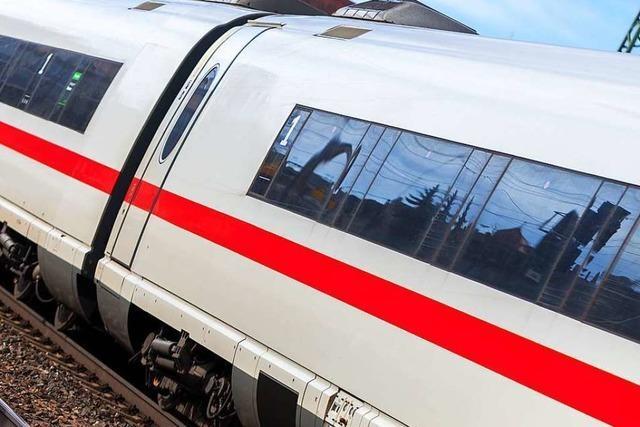 In Basel ist ein ICE aus Deutschland teilweise entgleist